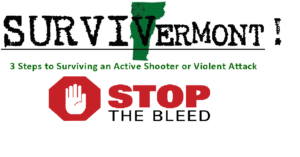 "SurviVermont ""Stop the Bleed"" Presentation Northwest VT MRC @ St Albans City Hall, North Main Street 
